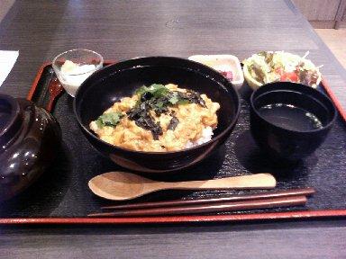 名古屋コーチン親子丼定食