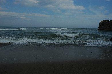 鵜の岬の海岸