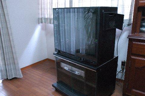 86年製ビクター製テレビ