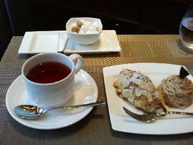 デザート、紅茶