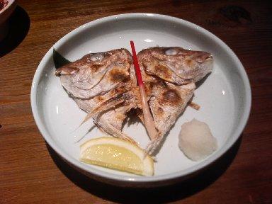 天然真鯛かぶと塩焼き