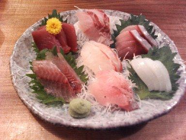 本日の鮮魚 7点盛り