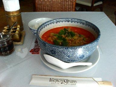 タイ風タンタン麺(中華麺)