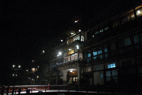温泉街の夜景4