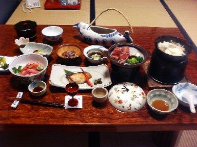 昭和館・夕食1