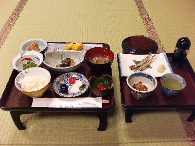昭和館・朝食