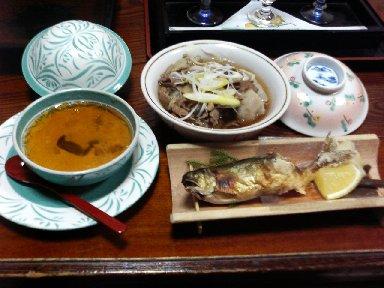 能登屋旅館・夕食2 温かい物