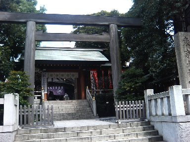 東京大神宮・鳥居