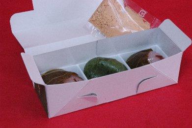 たねやの生菓子