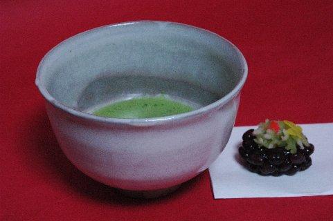 真熊川茶碗 銘「三か月」写し