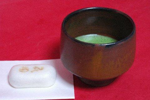 上野焼 半筒茶碗写し