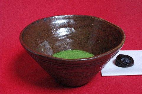 縄文式土器碗写し茶碗