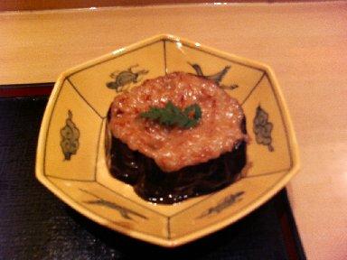 米茄子の味噌