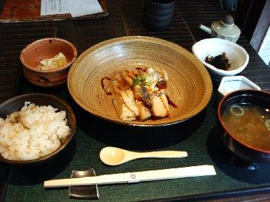 本日の魚料理御膳