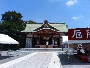 稲毛浅間神社・本殿