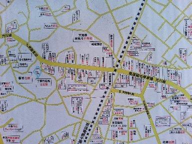 商店街地図
