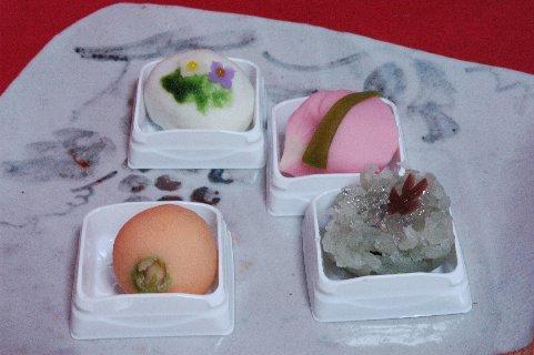 上生菓子4種