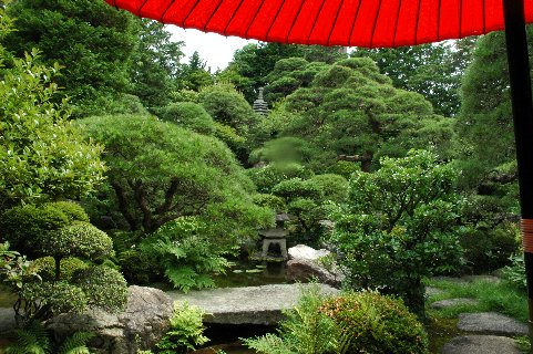 山本亭・庭園