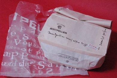 モンペリエ・紙袋