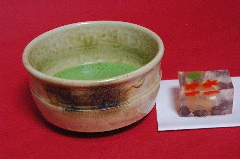 黄瀬戸茶碗写し