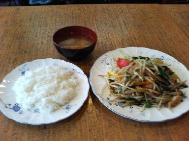日替わりランチ (スタミナ定食)