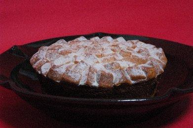 ケーキ on 天目釉皿