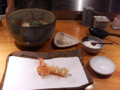 天ぷら 海老