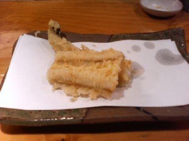 天ぷら 穴子