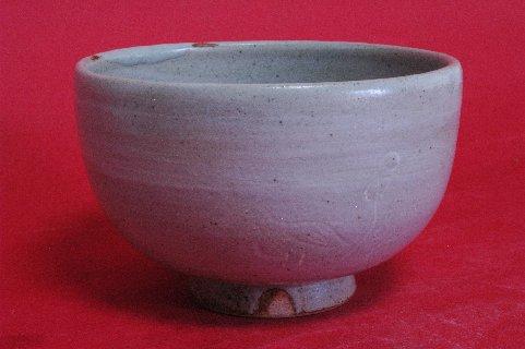 釘彫茶碗正面