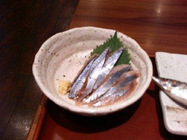 秋刀魚・刺身