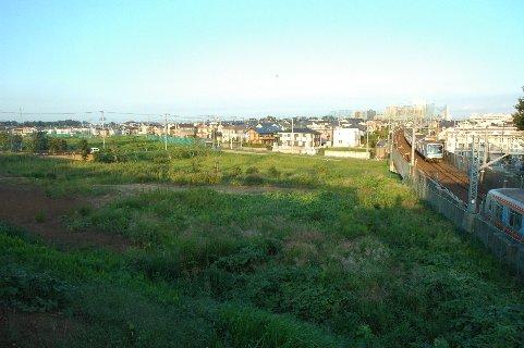 船橋日大前駅からの眺望