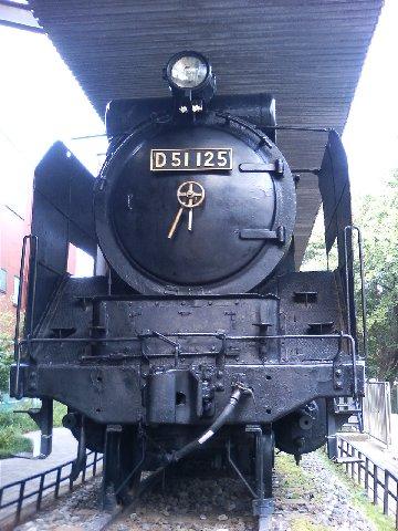 蒸気機関車D51125号