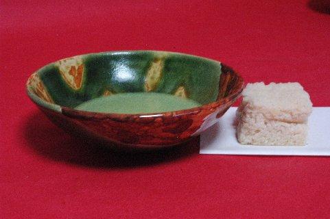 奈良三彩碗