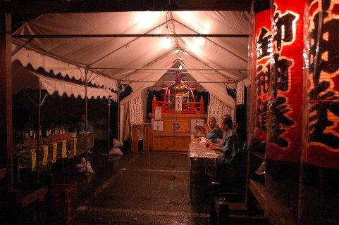 諏訪神社御旅所