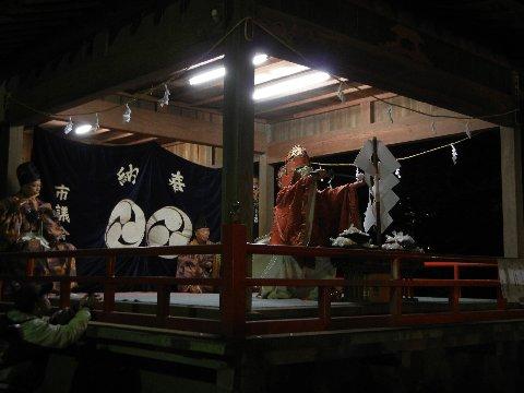 大宮神社の神楽