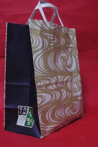 赤坂青野の紙袋