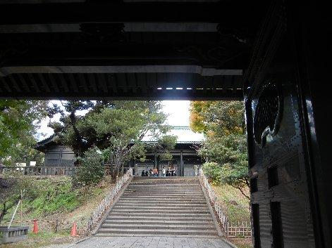入徳門から杏壇門・大成殿を望む