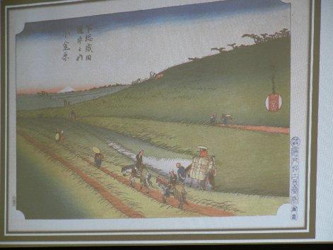 小金牧の浮世絵