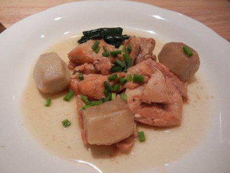 里芋と鶏肉の旨煮