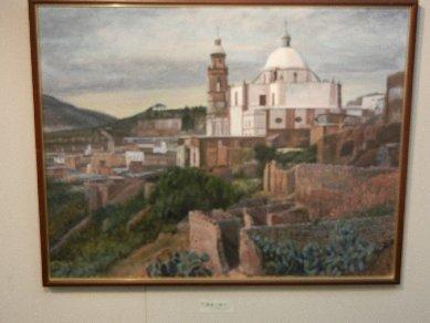 廃墟の銀山(メキシコ)