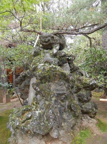 船橋大神宮の狛犬