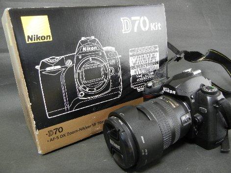 Nikon D70 kitの箱付