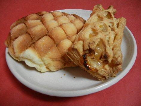 花月堂のメロンパン