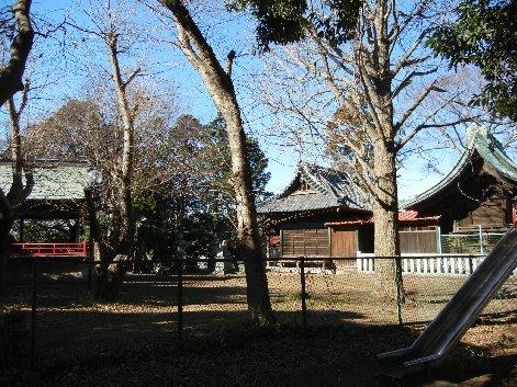 大宮神社神楽殿・拝殿