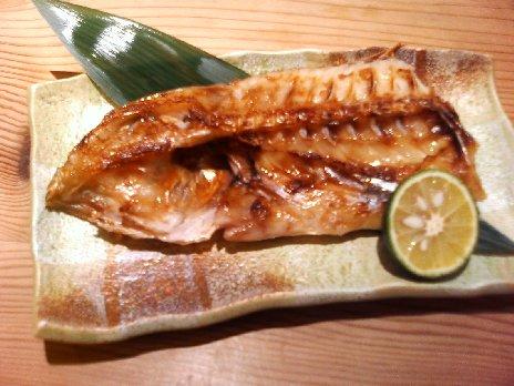 焼き魚 甘鯛(ぐじ)