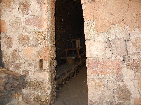 登り窯第二室