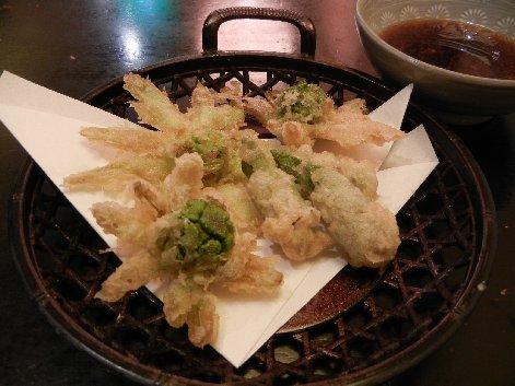 タラの芽・フキのとうの天ぷら