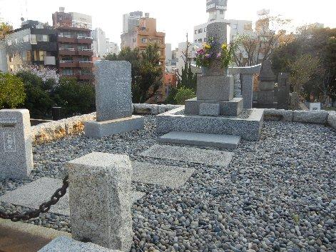 秋山好古の墓