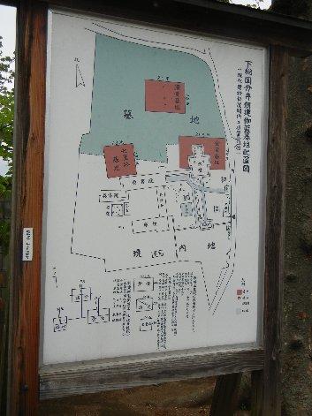 下総国分寺伽藍配置図