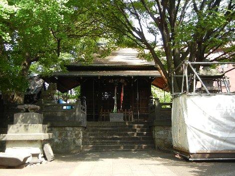 四丁目氷川神社